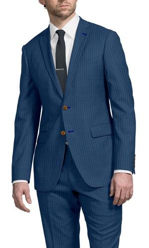 Suit Caramel Beaded Stripe