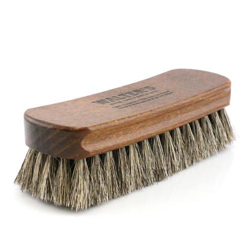 Shoe Care Premium Horsehair brush