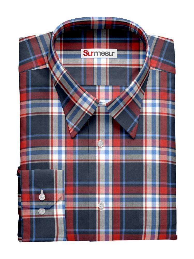 Dress shirt Checkered Inspiro