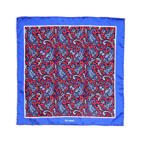 SALE - Silk pocket squares Silk Pocket Square - Bugsy