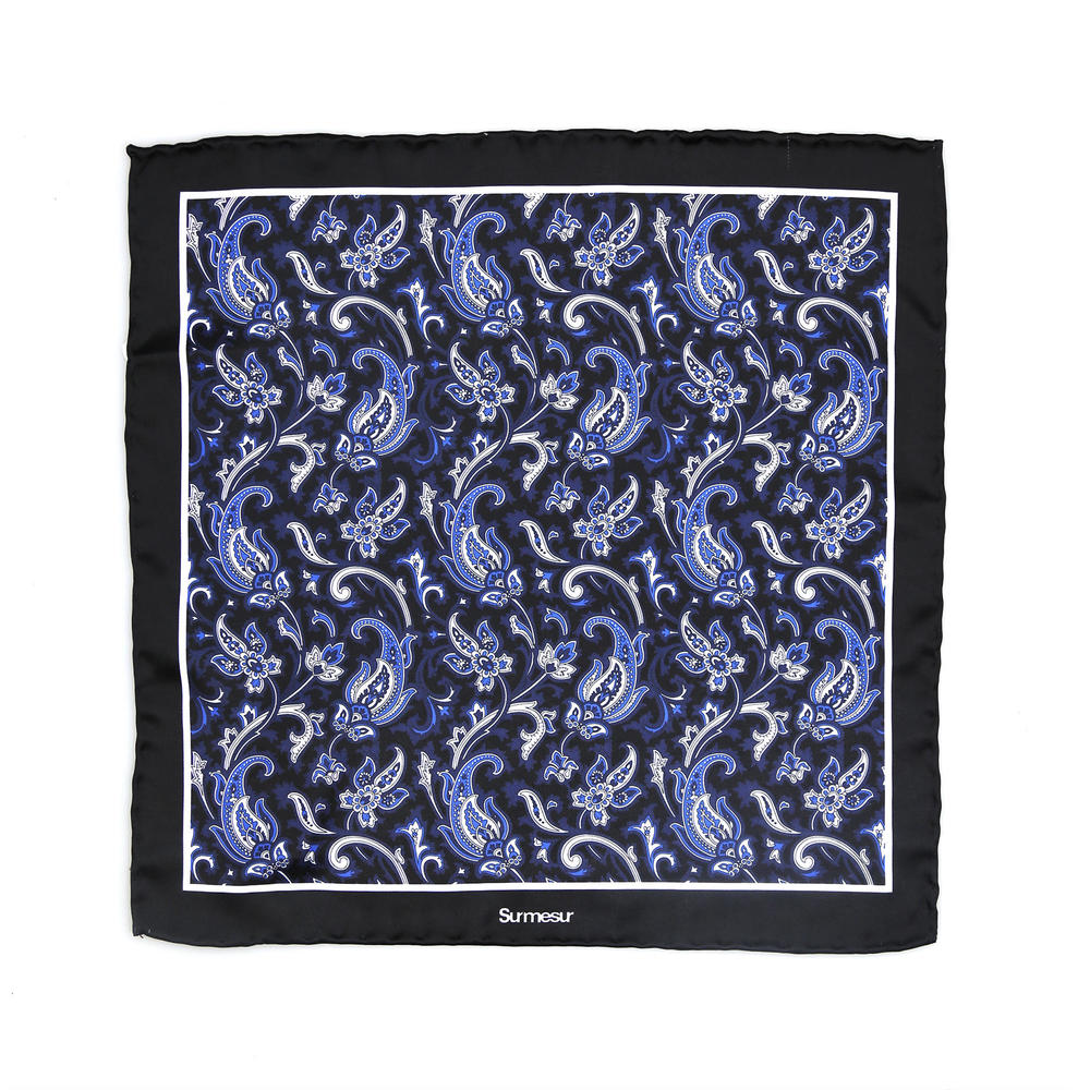 SALE - Silk pocket squares Silk Pocket Square - Capone