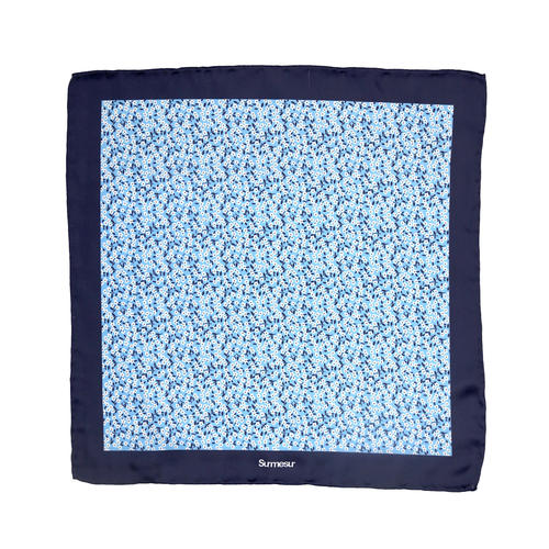 Pocket square Silk Pocket Square - Dillinger