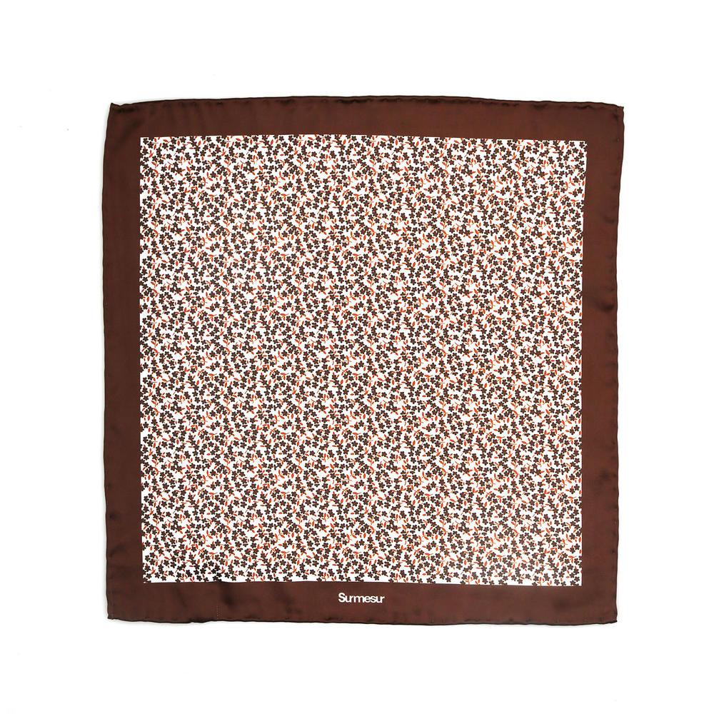 SOLDE - Mouchoir de soie Mouchoir de poche en soie - Lansky