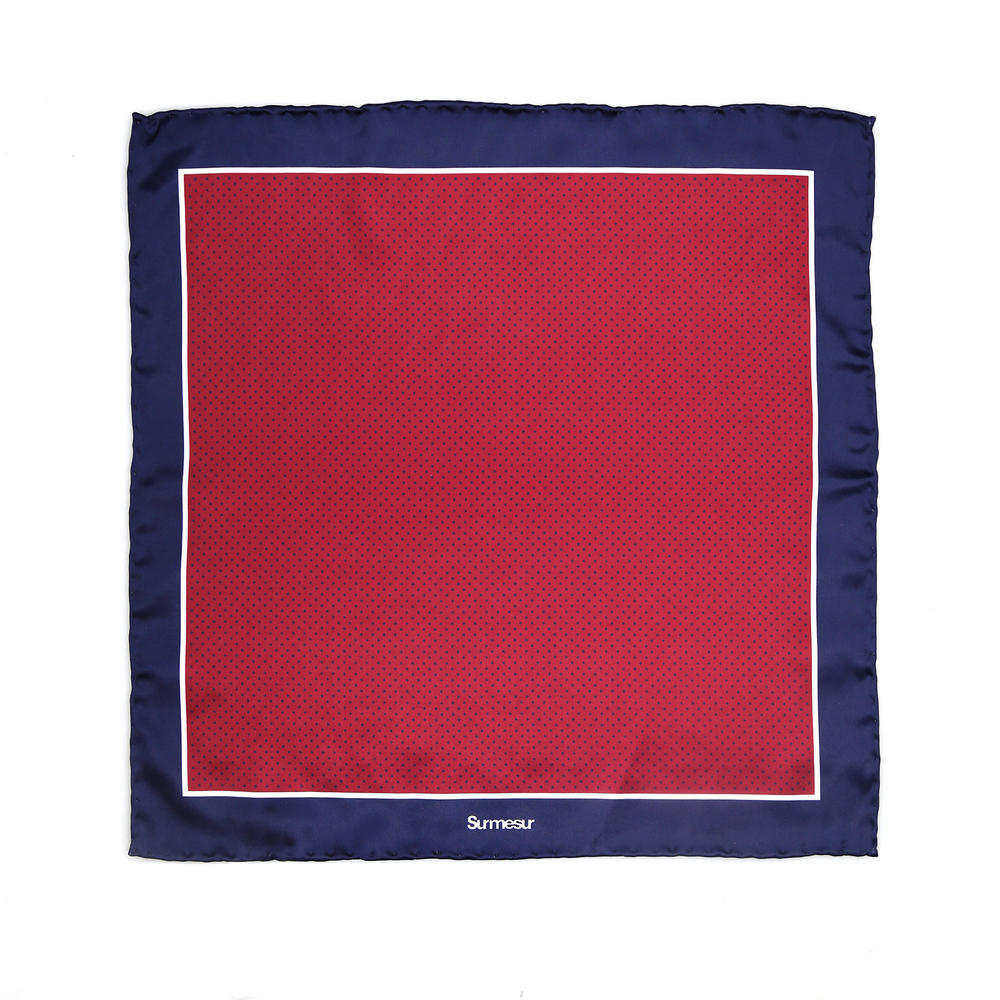 SALE - Silk pocket squares Silk Pocket Square - Nelson