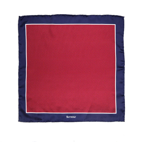 Pocket square Silk Pocket Square - Nelson
