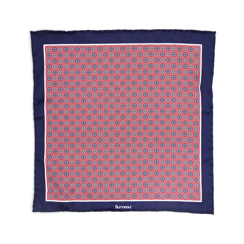 Pocket square Silk Pocket Square - Moran