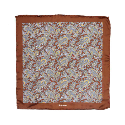 SALE - Silk pocket squares Silk Pocket Square - Gigante