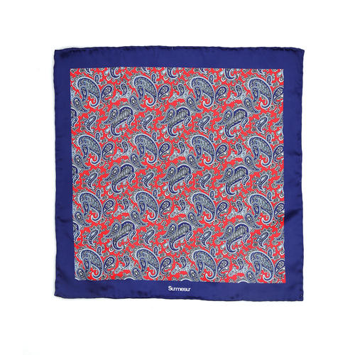 SALE - Silk pocket squares Silk Pocket Square - Gallo