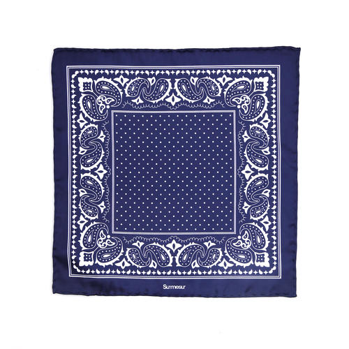 Pocket square Silk Pocket Square - Merlino