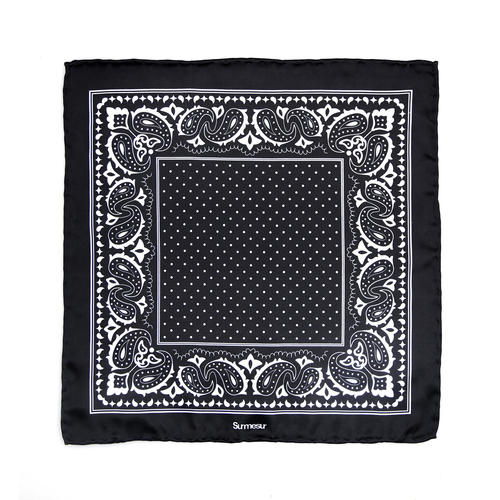 SALE - Silk pocket squares Silk Pocket Square - Shapiro