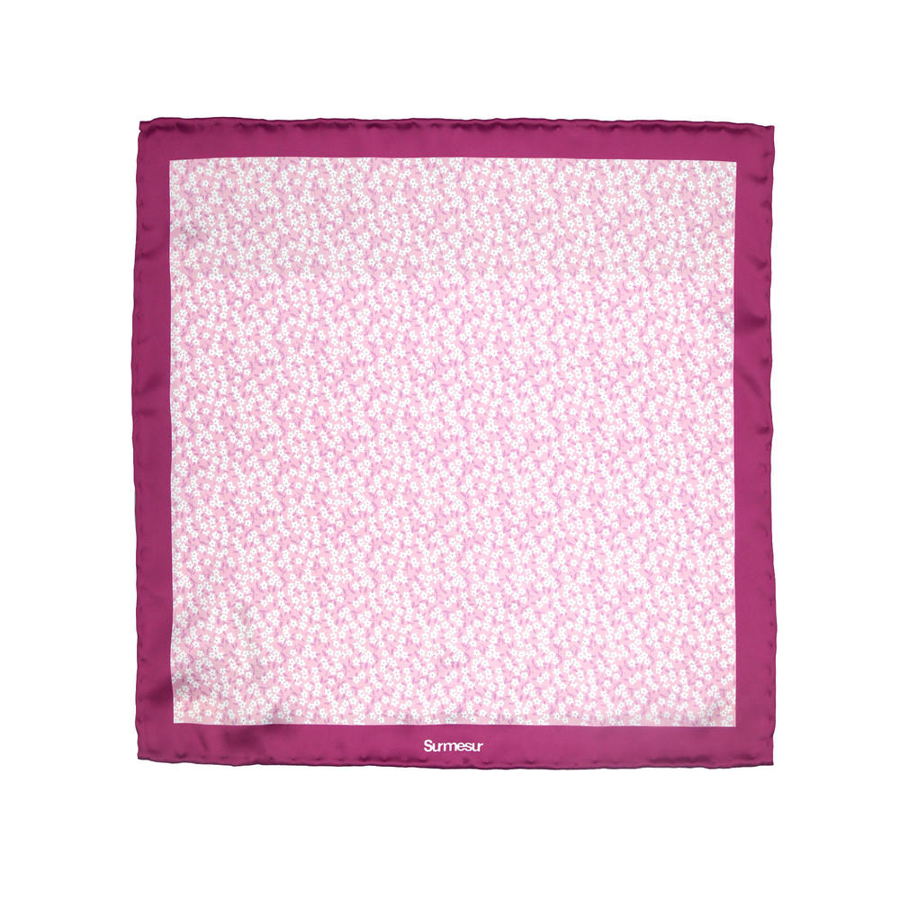 Pocket square Silk Pocket Square - Bonnie