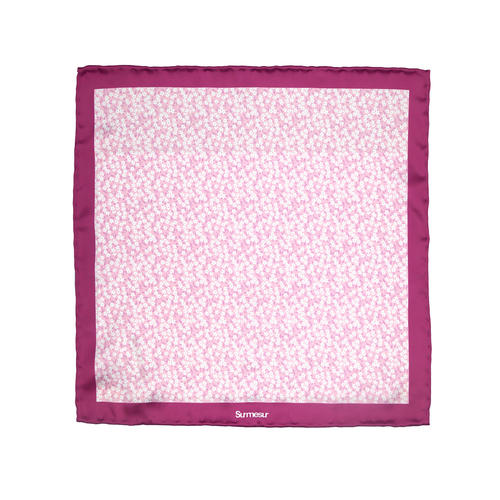 SALE - Silk pocket squares Silk Pocket Square - Bonnie