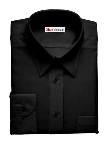Dress shirt Bamboo Black