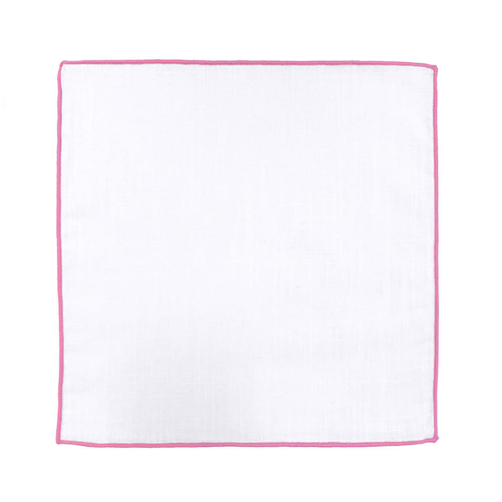 Pocket square Pocket Square - Borderline Pink