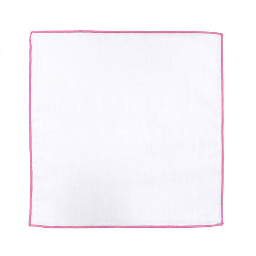 Pocket squares Pocket Square - Borderline Pink