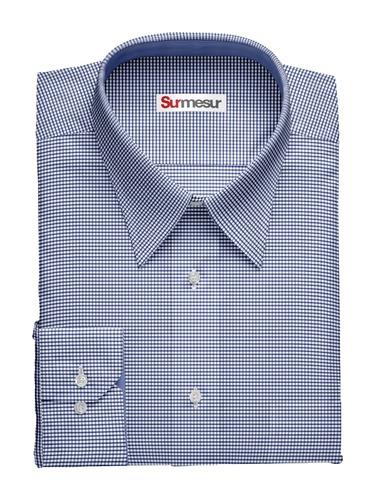 Dress shirt Blue on Blue