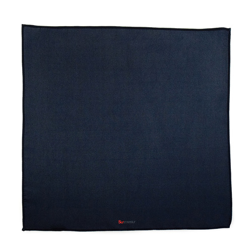 Pocket square Pocket Square Navy Solid - Design 20