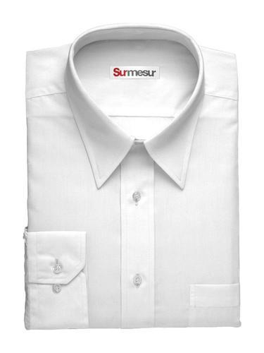 Chemise habillée Sergé blanc essentiel