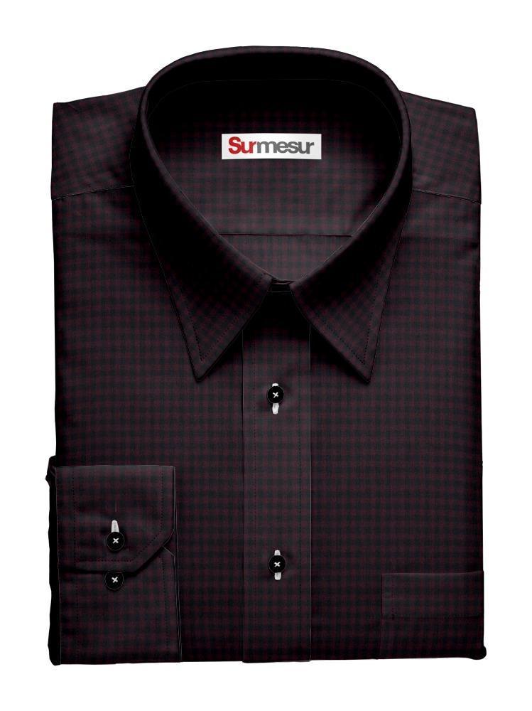 Chemise habillée Inspiro Carreaux sombres