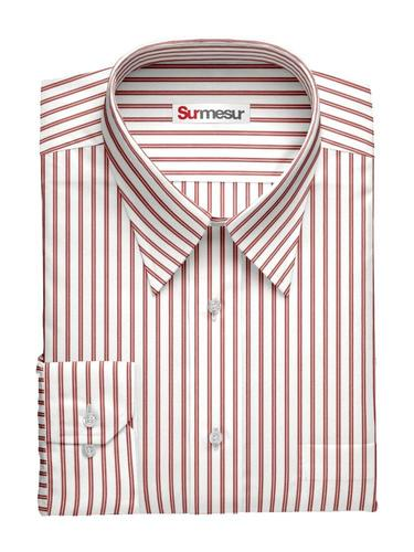 Chemise habillée Inspiro Double rayure