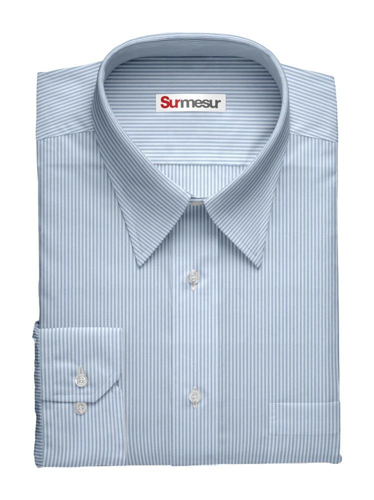 Chemise habillée Baie bleue