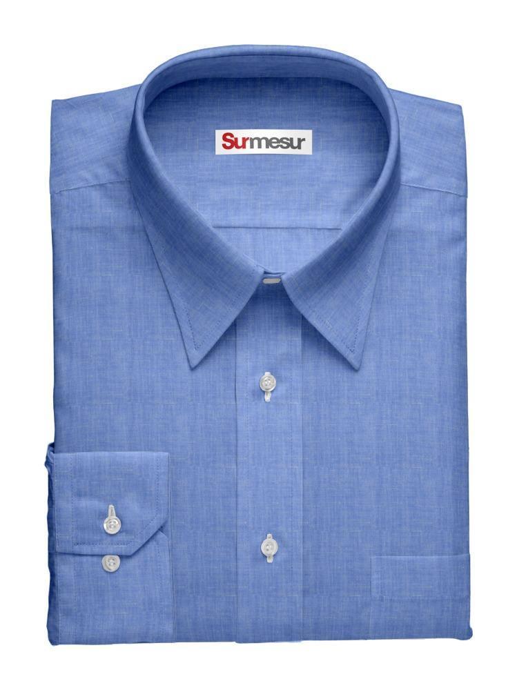 Dress shirt Beach Blue