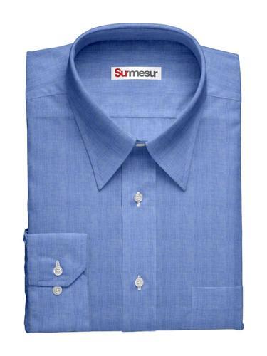 Chemise habillée Bleu plage