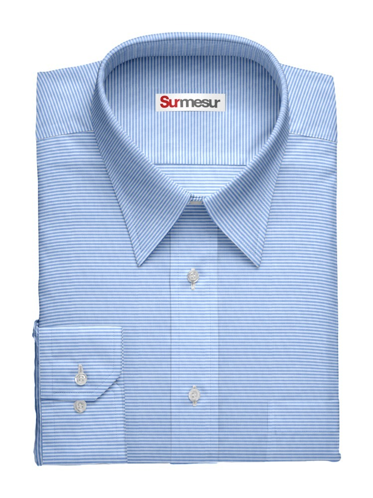 Dress shirt Horiontal stripes