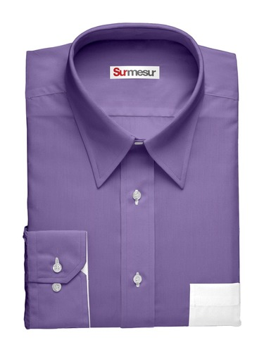 Dress shirt Deep Purple