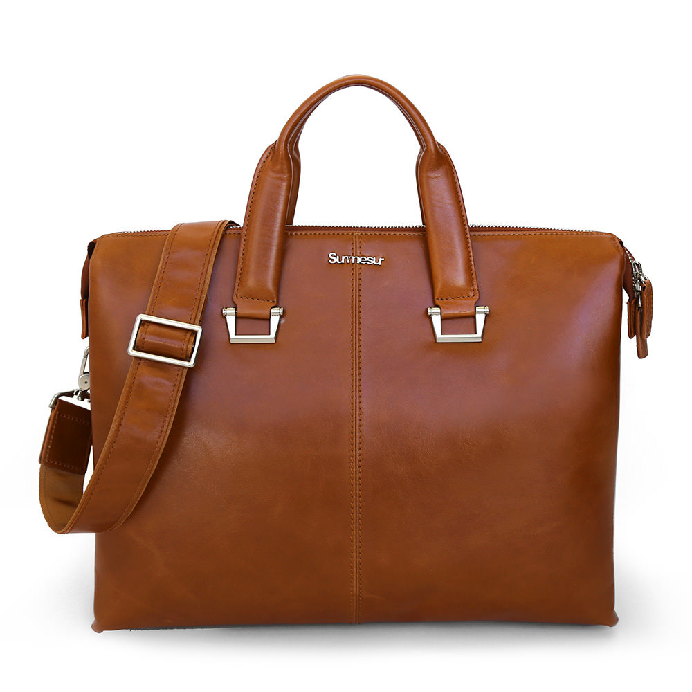 Large surmesur bag hemingway brown 1