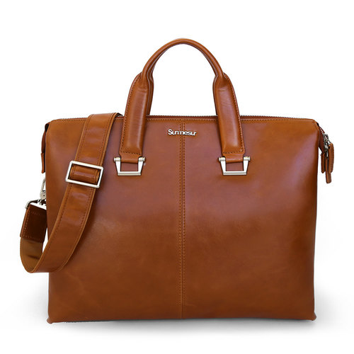 Leather bag The Hemingway - Caramel