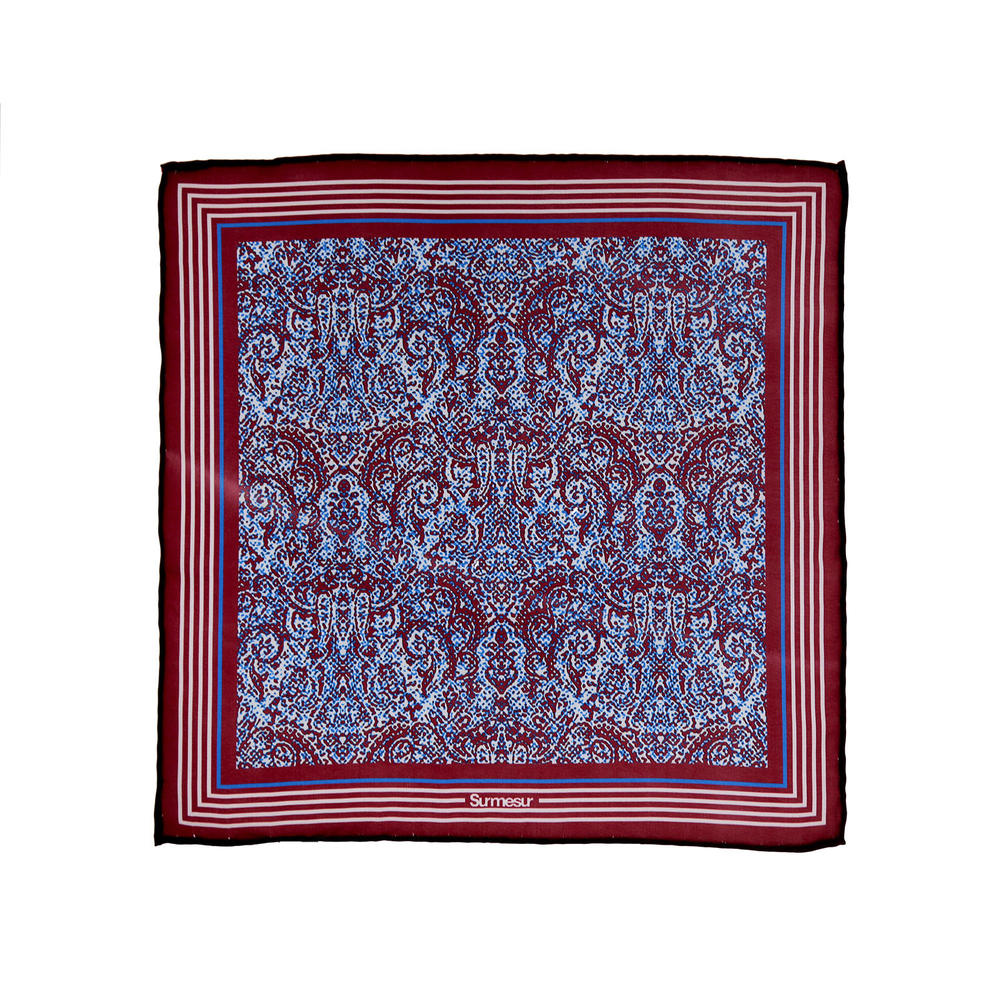 SALE - Silk pocket squares Silk Pocket square - Morgan