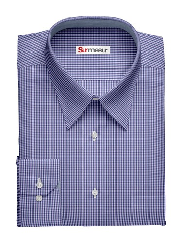 Dress shirt Purple n' Blue