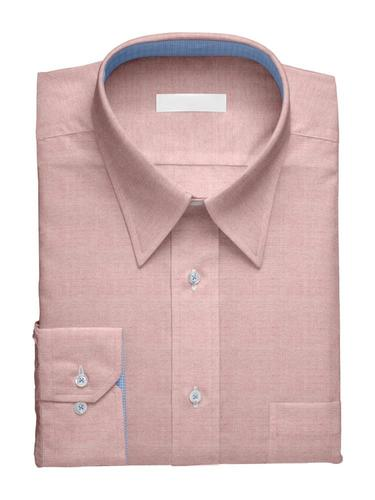 Dress shirt Pink Charlotte with contrast