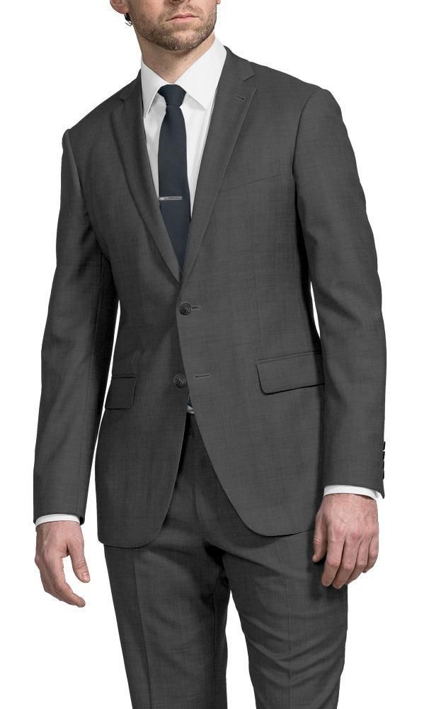Suit Mid Grey Serge