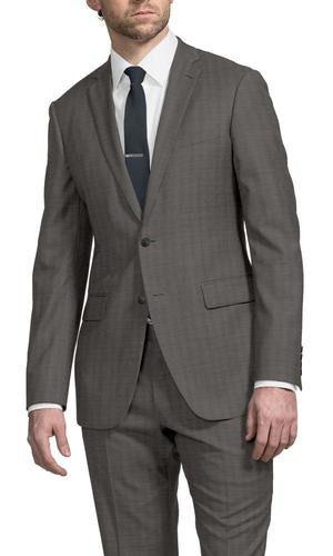 Suit Taupe Sharkskin
