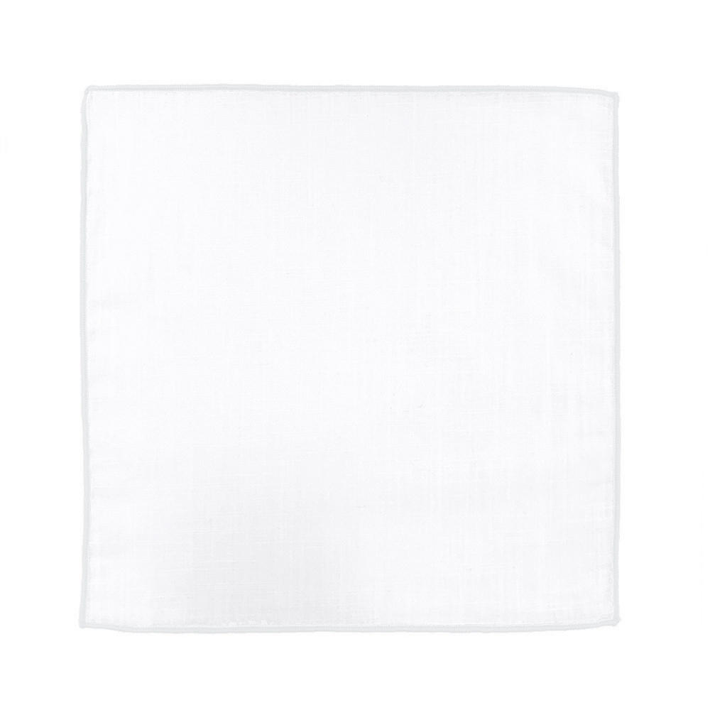 Pocket square Pocket square - Borderline White