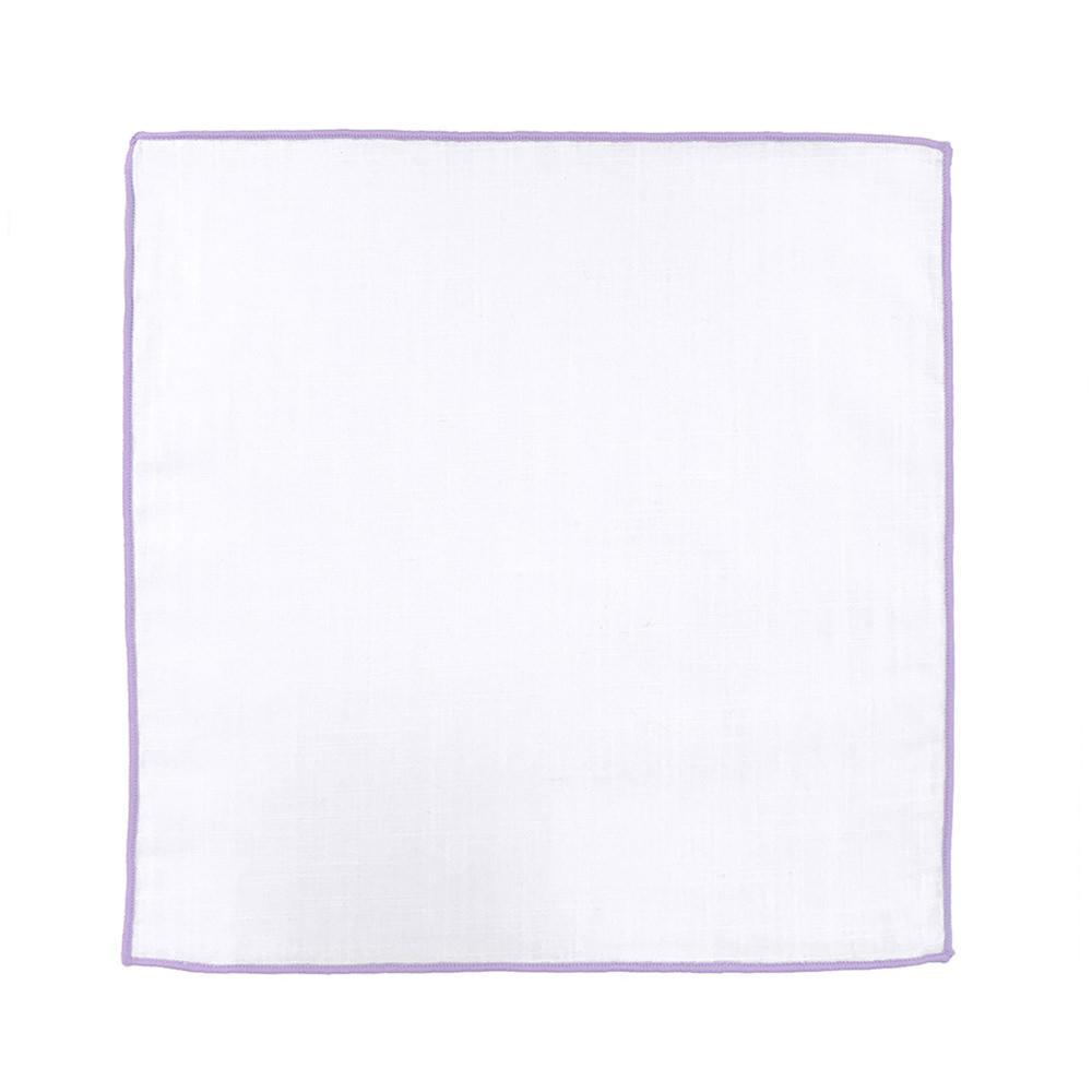Large mouchoir blanc lavande 0237c34f5e