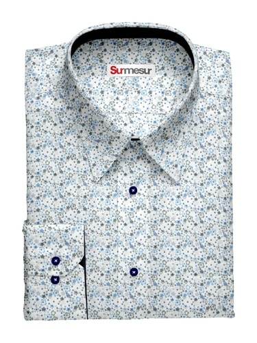 Dress shirt Blueberry Fields