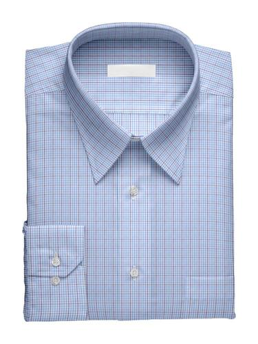 Dress shirt Blue Checks - Penelope