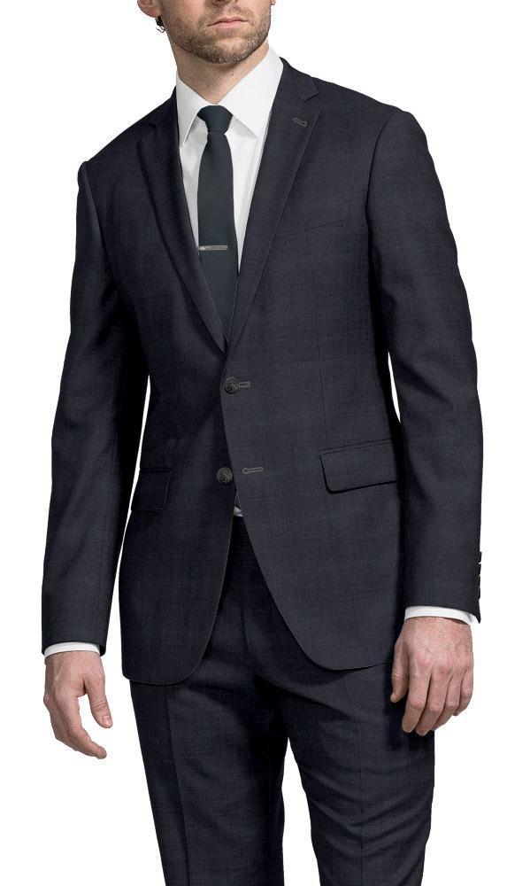 Suit Dark Blue William Flannel