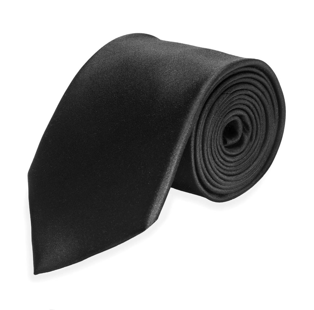 Large surmesur tie cravate 2019 silk black b3289a665f