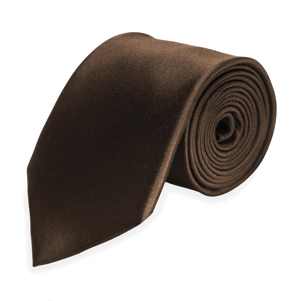 Large surmesur tie cravate 2019 silk brown 8cb3ae66fe