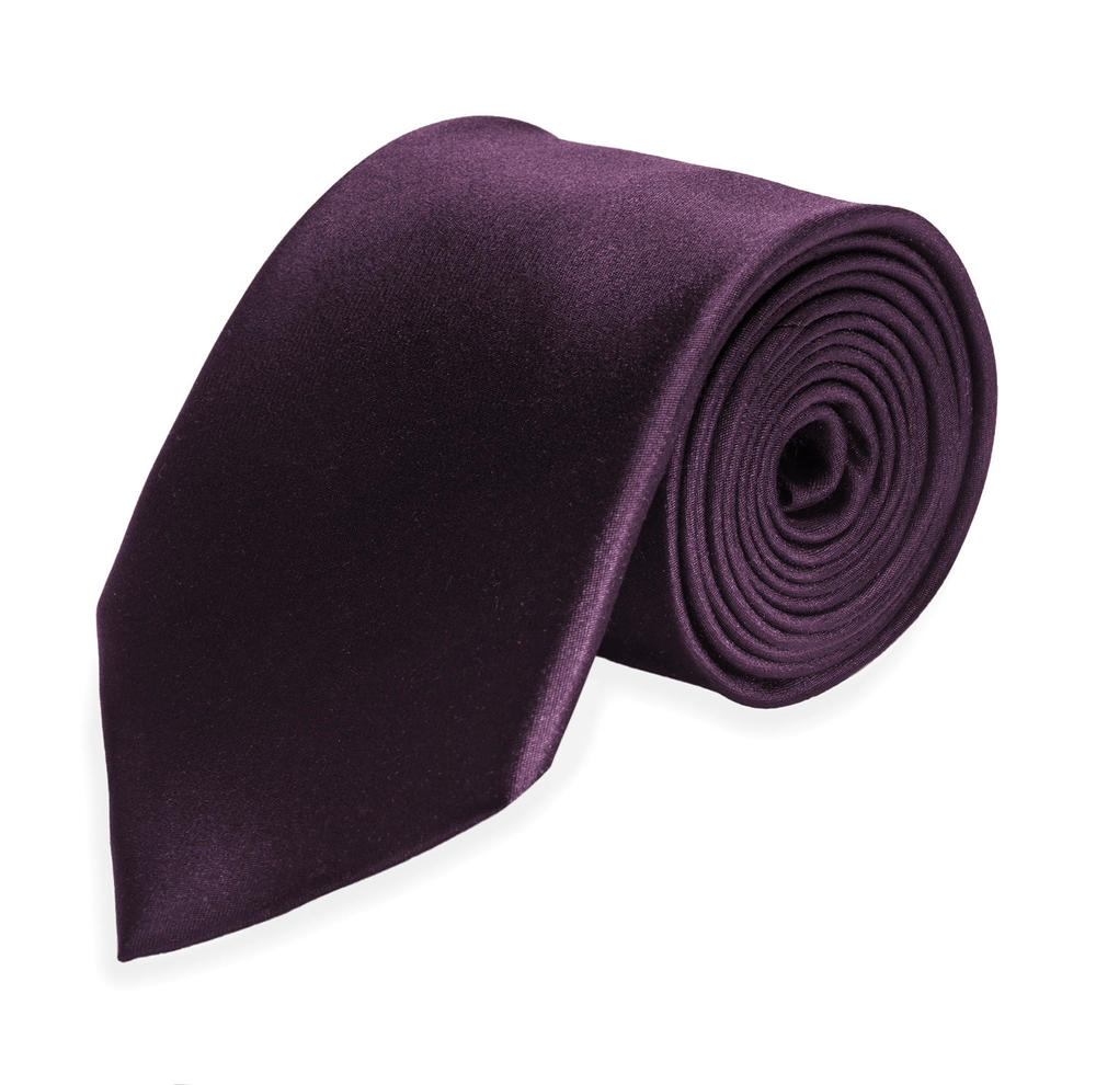 Large surmesur tie cravate 2019 silk darkpurple 6ecbd7b786