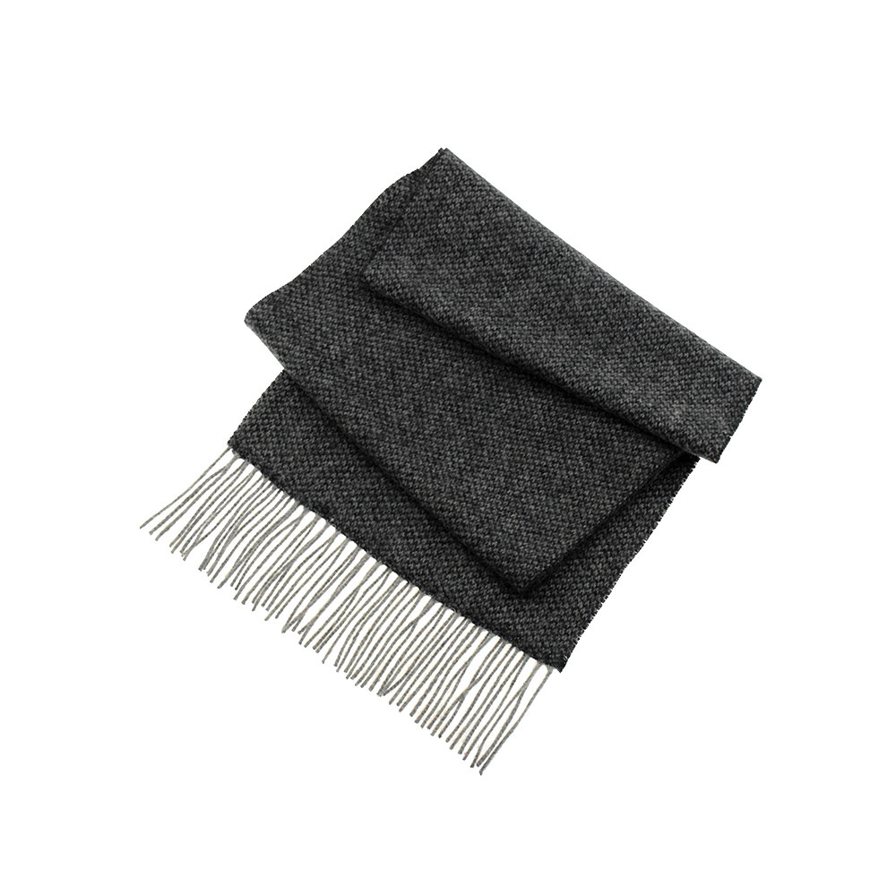 Scarves Scarf - Neat Charcoal