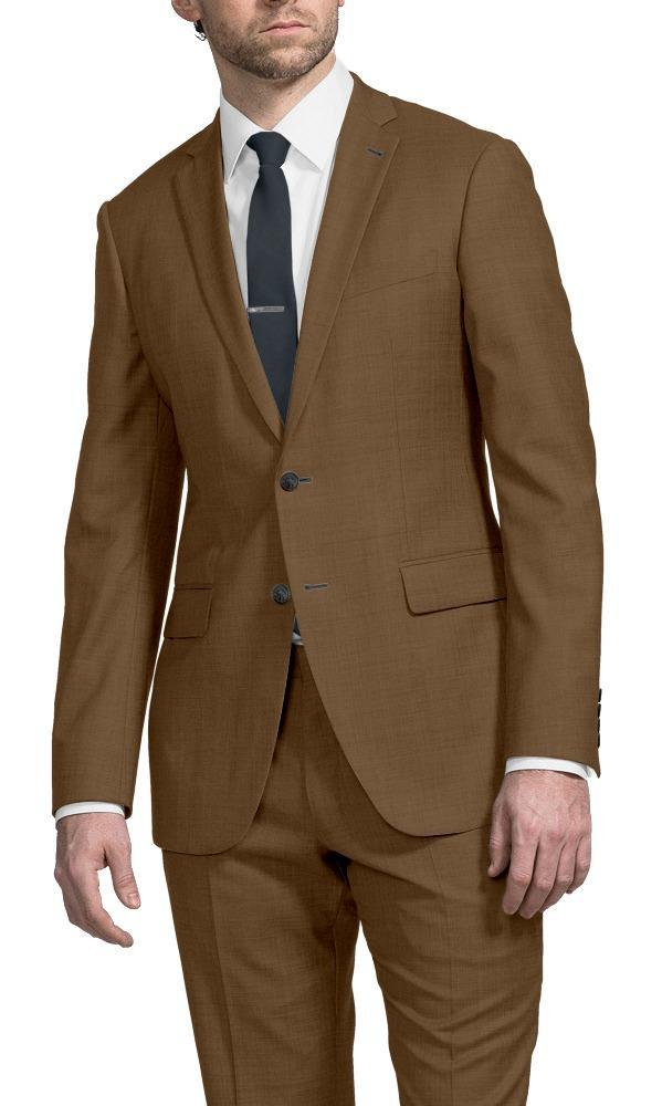 Suit Solid Tan - Georges