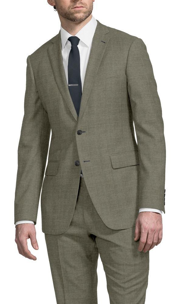 Suit Taupe Sharkskin - Guabello 130