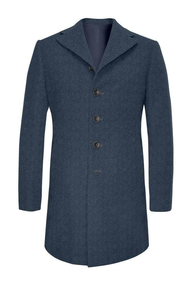 Overcoat Steel Blue
