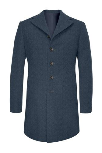 Overcoat Steel Blue