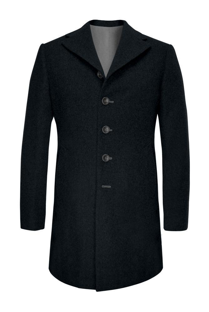 Overcoat Midnight Blue